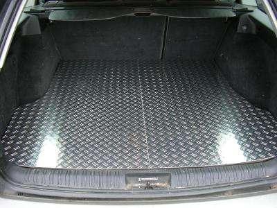 Fußmatten Alu Riffelblech für Land Rover Defender Typ 110 1990-2006