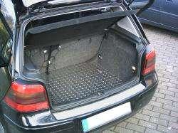 Fußmatten Alu Riffelblech für Toyota Yaris Verso 05//2003