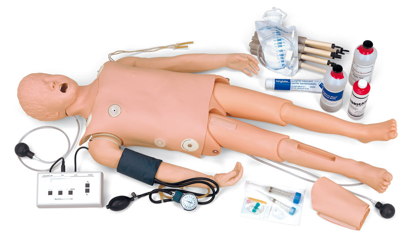 Rettungssanitäter ausbildung  megacode-kind